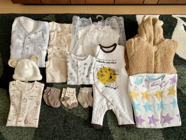 11月産まれの出産準備ー洋服編ー